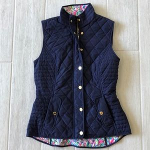 Lilly Pulitzer Down Vest NWOT